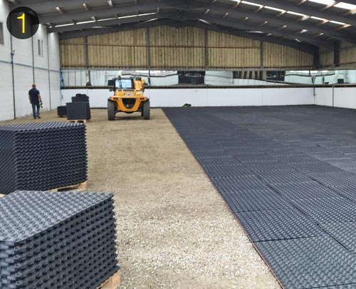 Installing the OTTO-IndoorMats