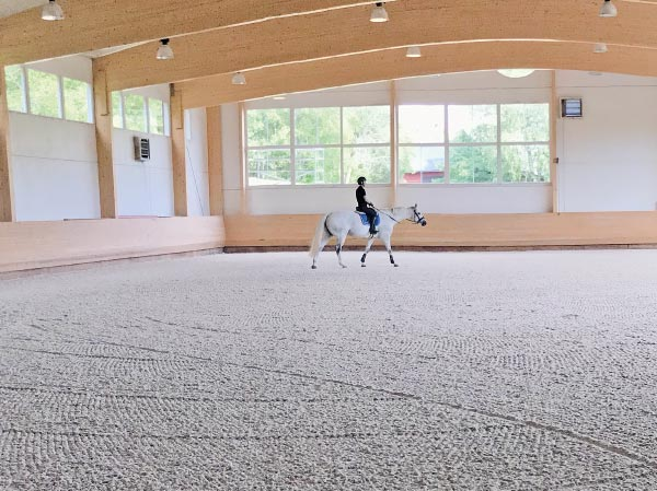 OTTO Sport indoor riding arena