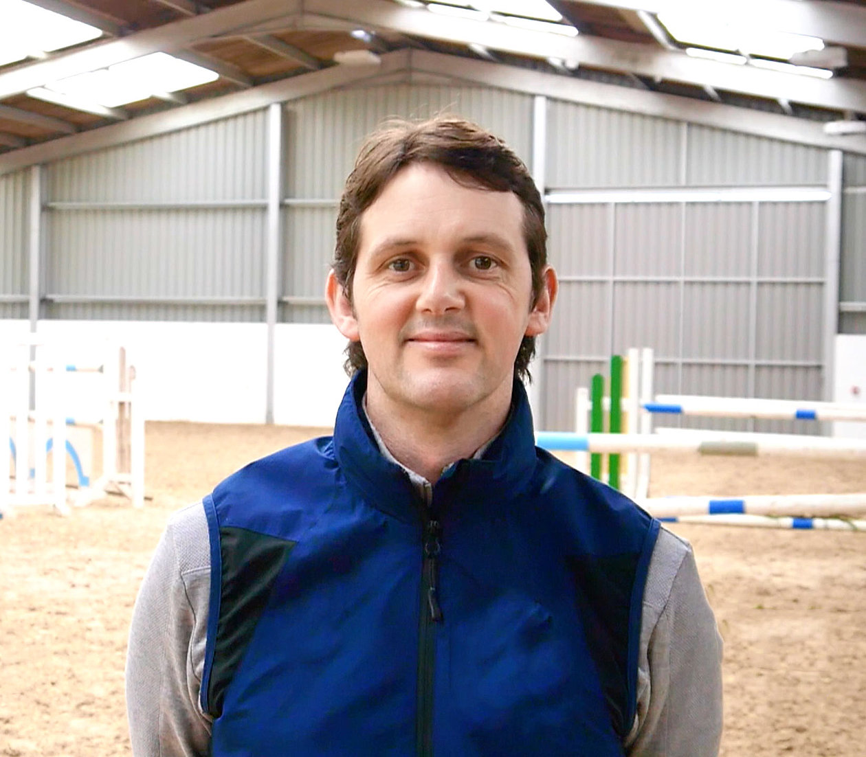 Interview with Billy Twomey - British Showjumper