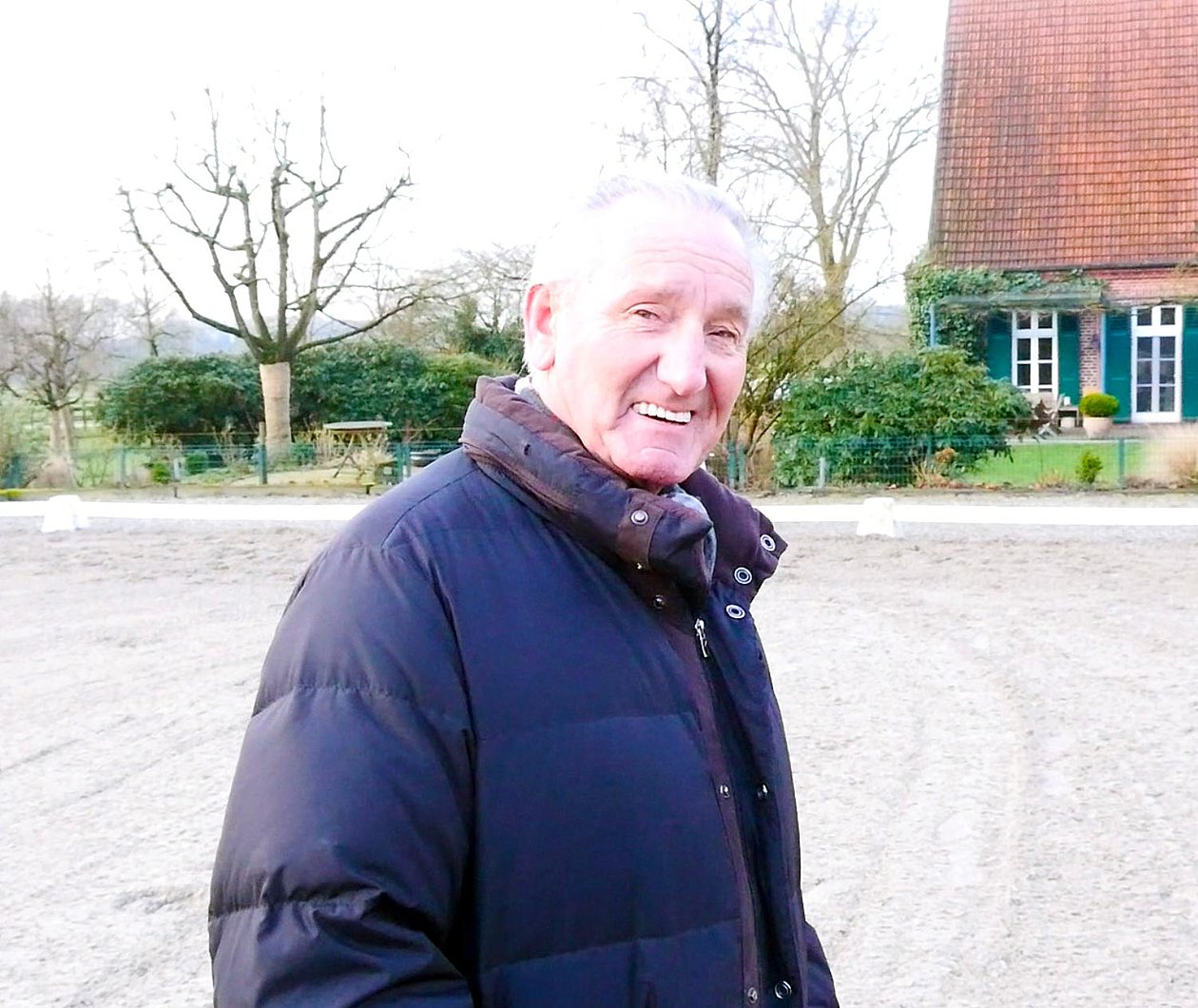 Interview with Klaus Balkenhol - Olympic Dressage Rider